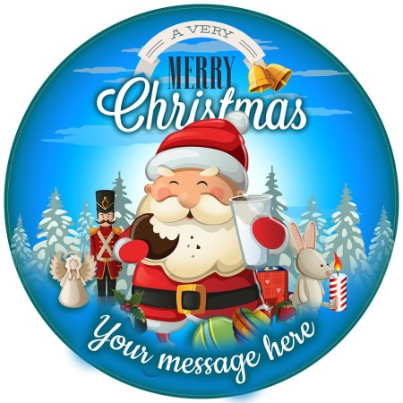 Unique gift shop london personalised biker santa claus Unique christmas decorations uk