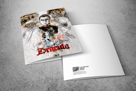 Limited Edition Greeting Cards - Dracula