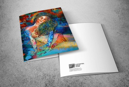 Limited Edition Greeting Cards - Graffiti Dreamer