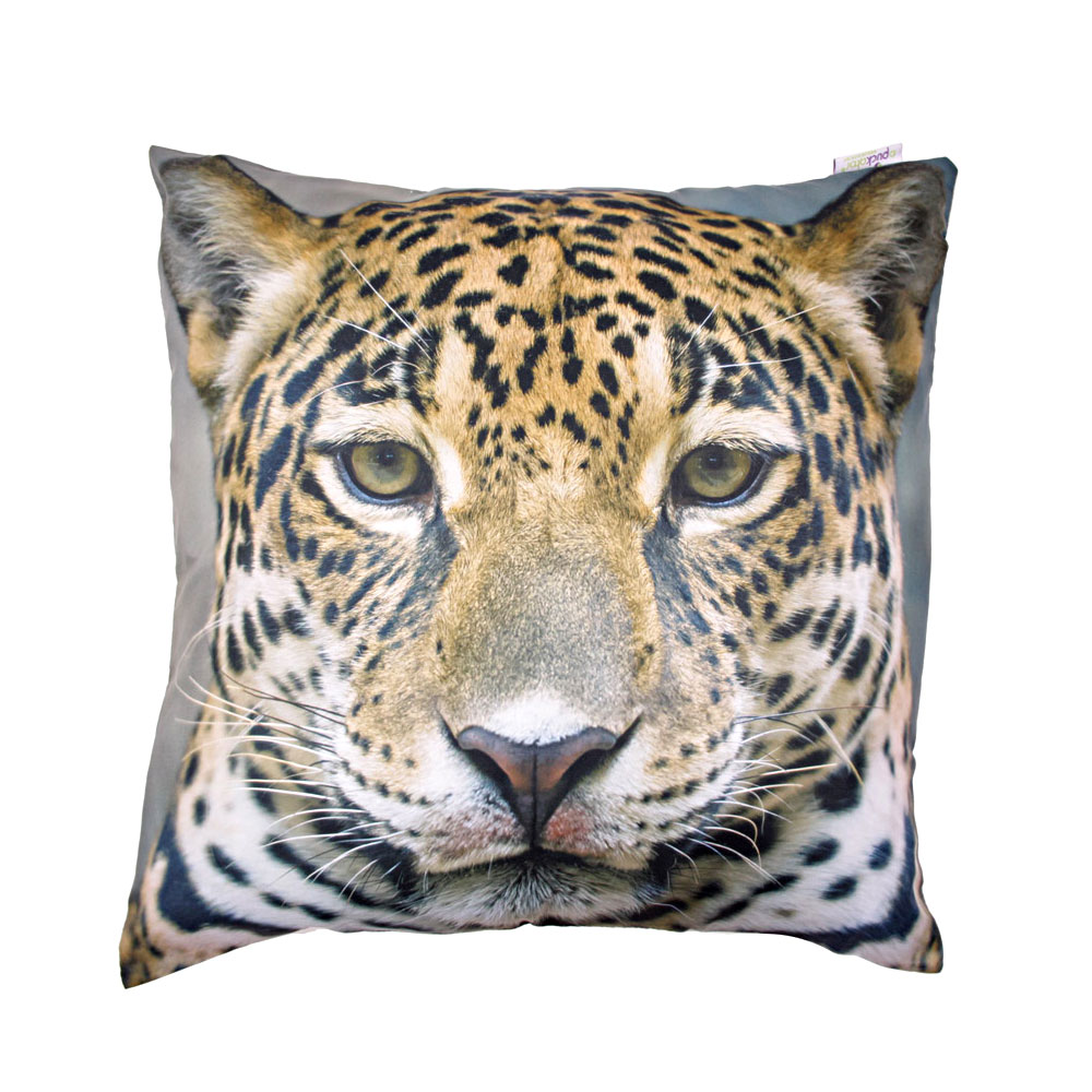 Decorative Art Print Jaguar Cushions