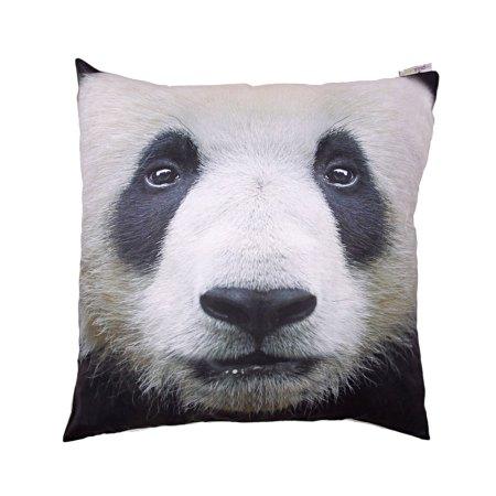 decorative art print panda cushion