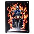 Hells Angels Metal Plaque