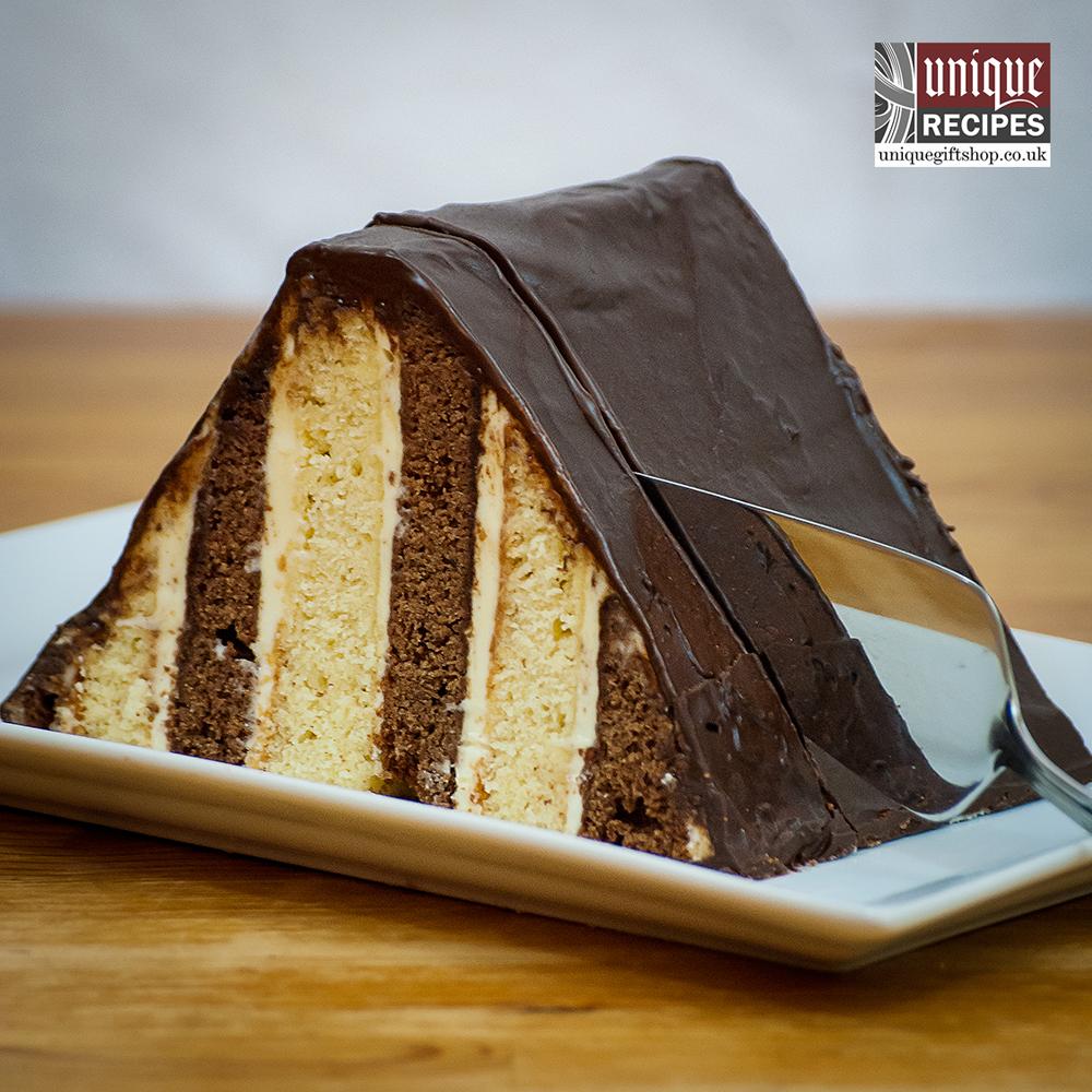 triangular mocha latte cake recipe