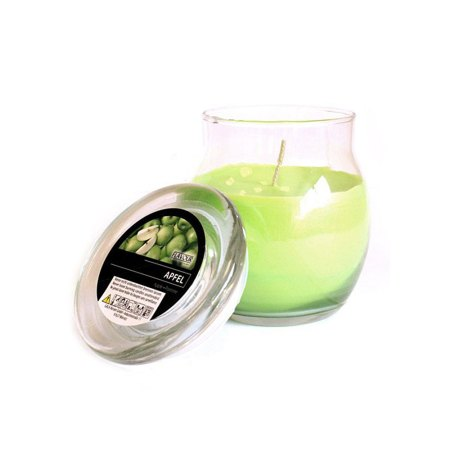 scented glass jar candles apple