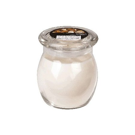 scented glass jar candles coconut 1