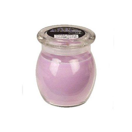 scented glass jar candles lavender 1