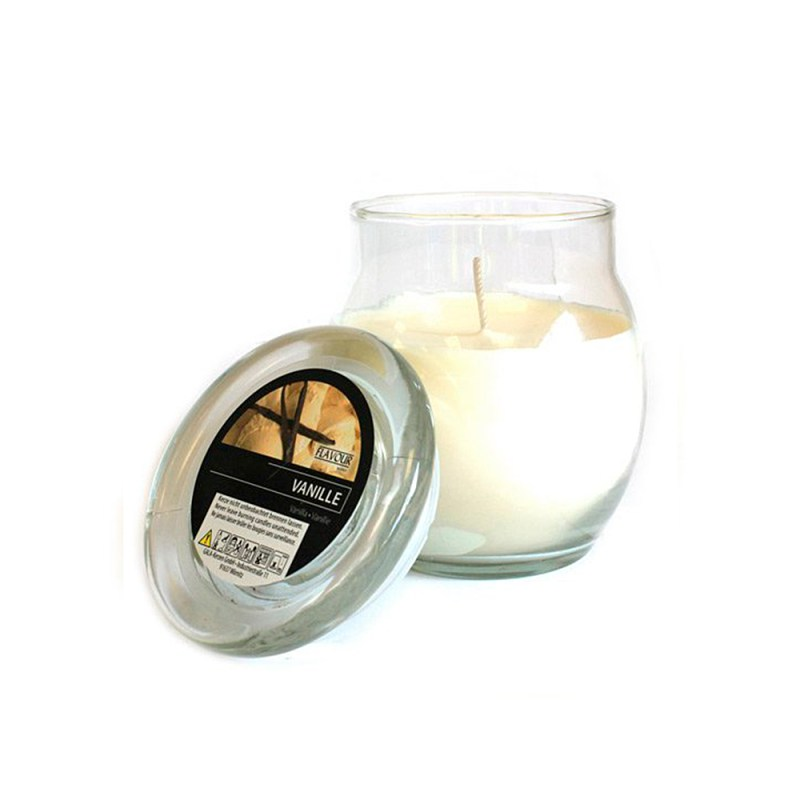scented glass jar candles vanilla