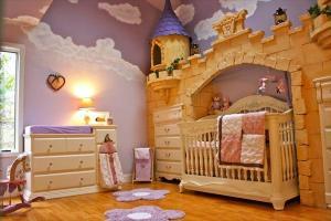 女の子はみんな憧れる!お城のベッド