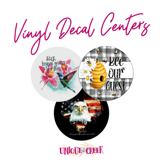 Vinyl Decal Centers