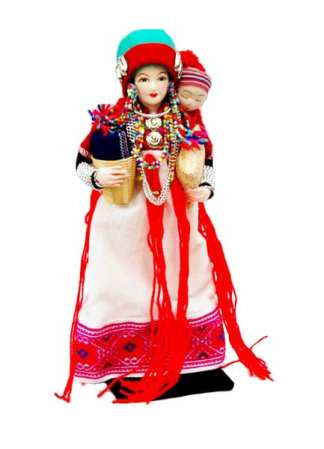 Hill Tribe Dolls Karen or Yang-