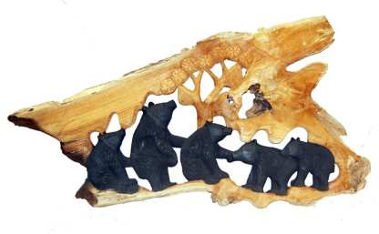 Bear Relief Carving T
