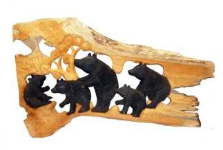 Bear Relief Carving V