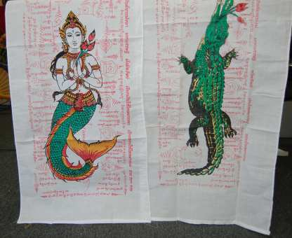 Alligator and Mermaid