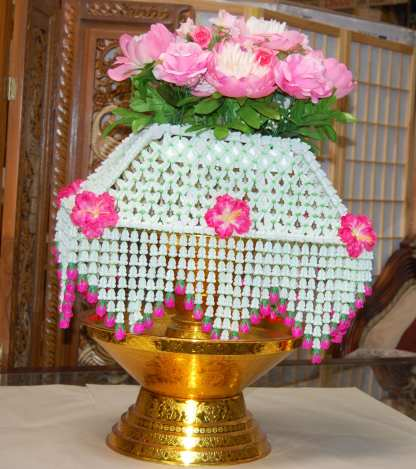 Ceremonial Flower Stand -4