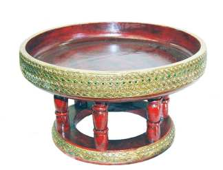 Wooden Ceremonial Bowl
