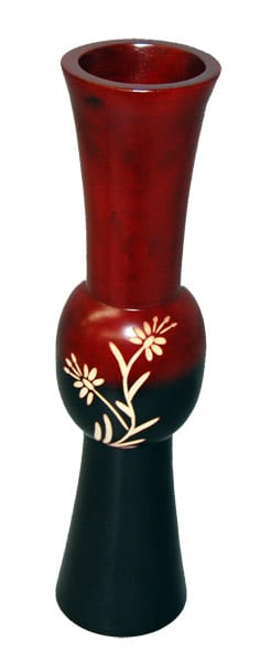 Mango Vase Flower Ball Red Top