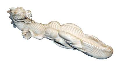 White Dragon Incense Holder