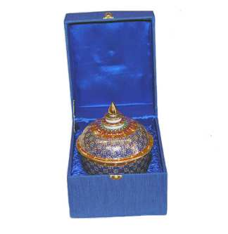 Benjarong Bowl & Lid with Box