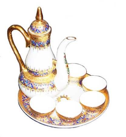 Benjarong Design Tea Set-1