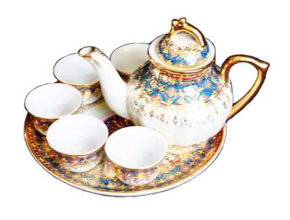 Benjarong Design Tea Set-43-3