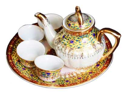 Benjarong Design Tea Set-43-4