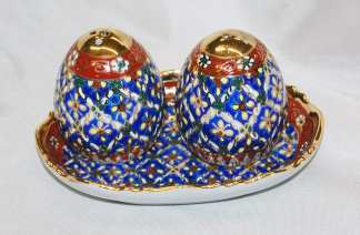 Benjarong Salt & Pepper Set -2