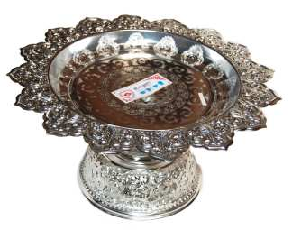 Silver Finish Serving Tray-11
