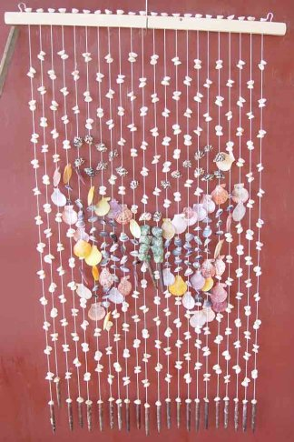 Seashell Curtain Butterfly