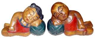 Child Sleeping Bookends