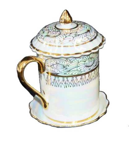 Stein Bone China Gold Accent