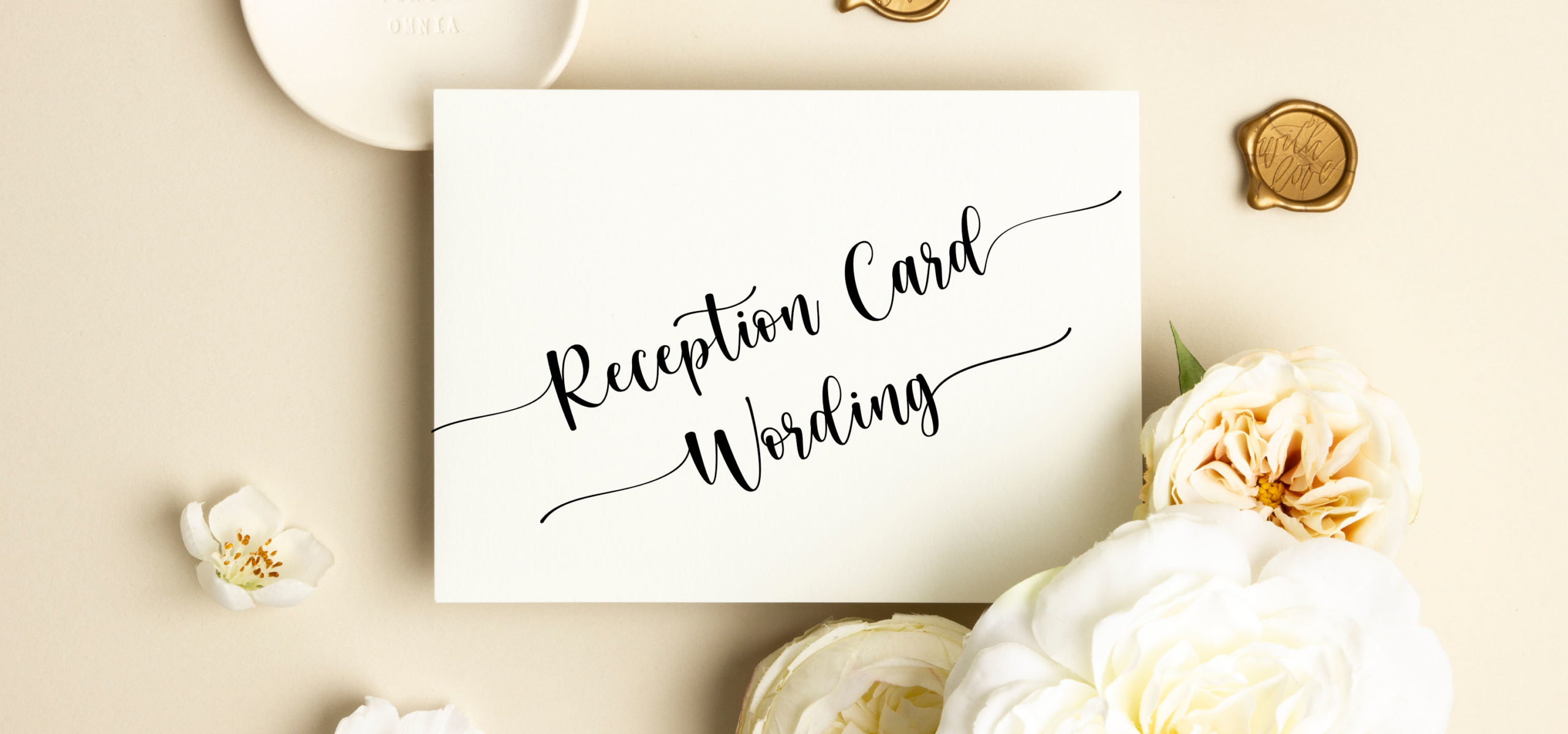 Reception Card Wording