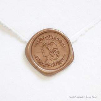 Blushed Bride Wax Seal