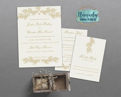 All Love Branch Invitation Set