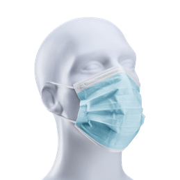 Industrial 3-Ply Face Mask with Elastic Ear Loop