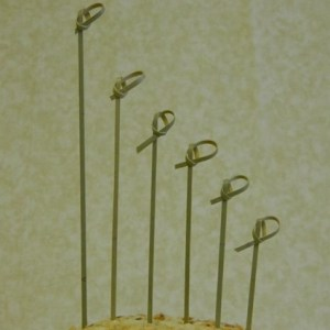 Knotted Bamboo Picks - 6 Sizes and 2 Colors