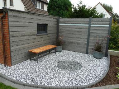 fence wood grey washed