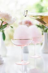 Cotton Candy Champagne Cocktail – recipe shared on Lauren Conrad