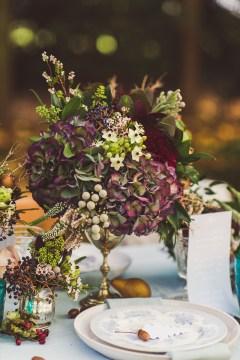 Autumn Fall Inspired Centerpiece – shared on Rock My Wedding