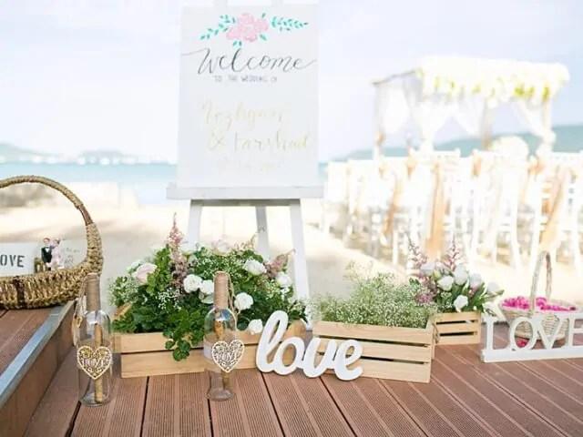 Beach Club Wedding F And M 16