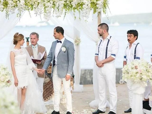 Beach Club Wedding F And M 40