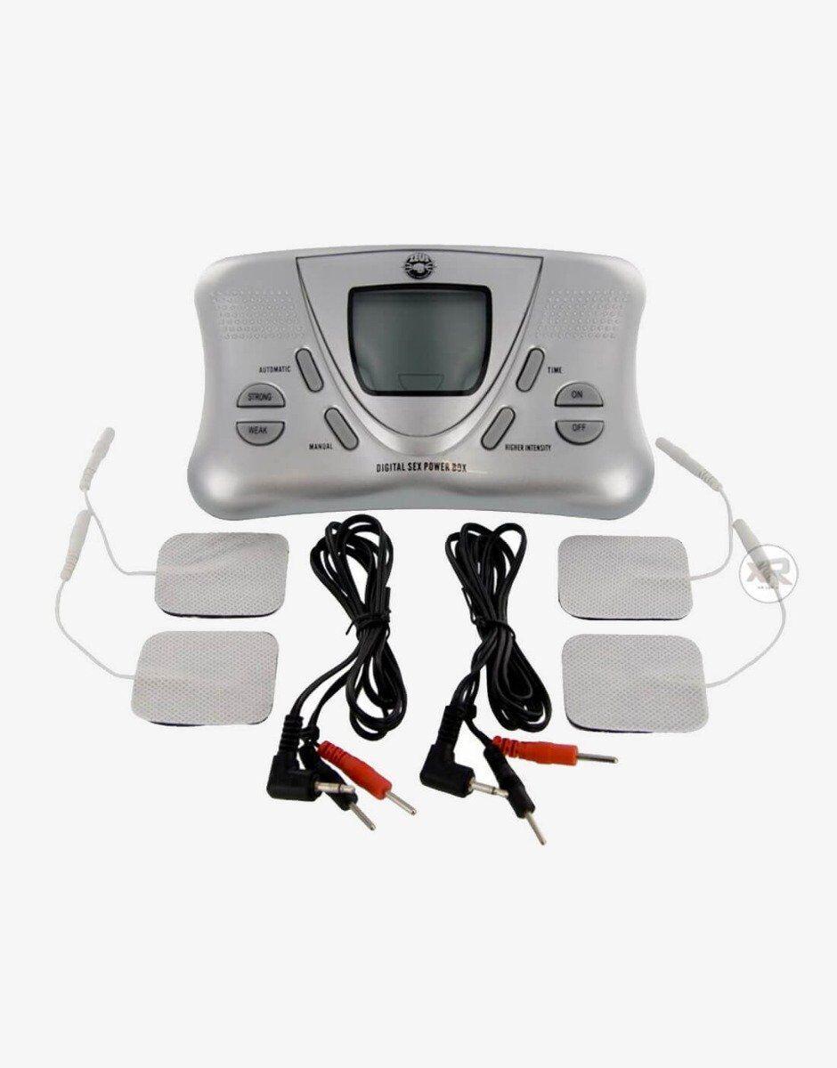Elektro sex boks fra zeus med digitalt display og syv programmer
