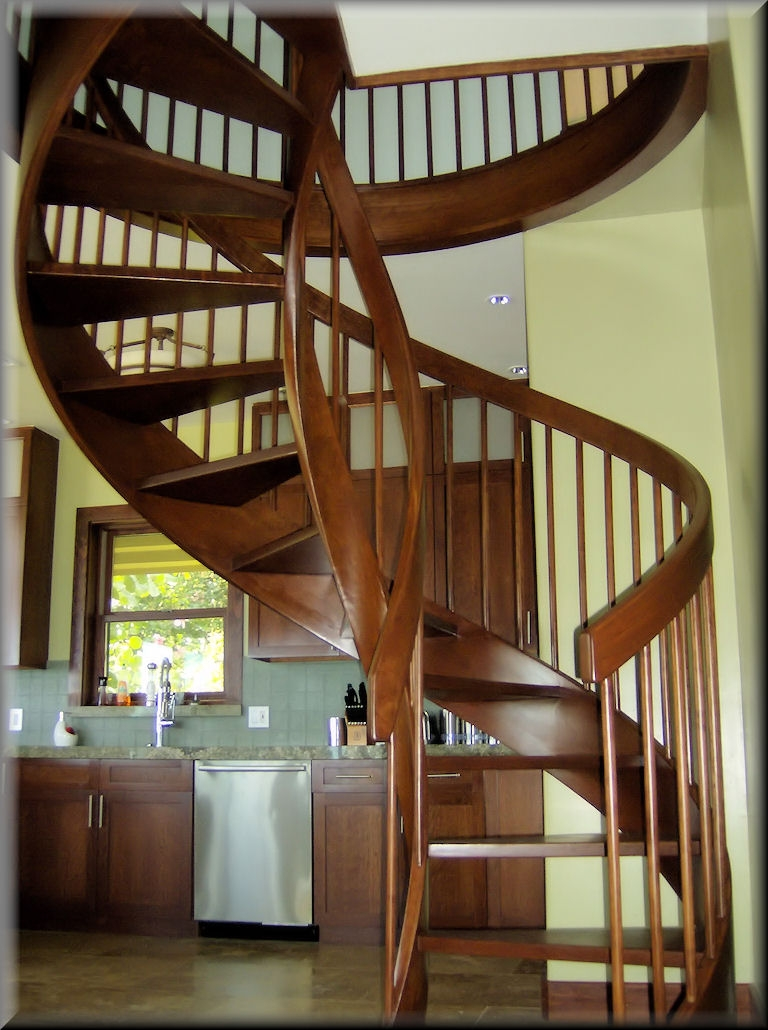 Spiral Stair Options | 6 Foot Spiral Staircase | Tread Depth | Stair Kit | Metal | Building Code | Hayden Gray