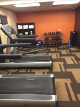 Hotel Gym Workout Leg Day