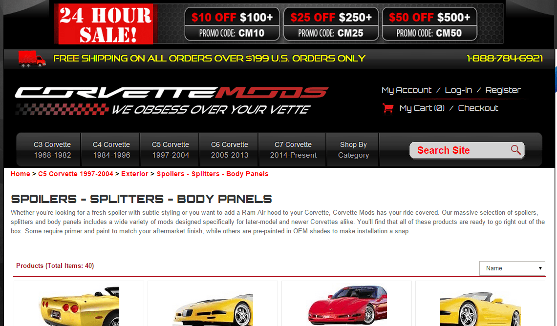 Corvette Mods
