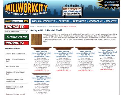 Millwork City Website Copy