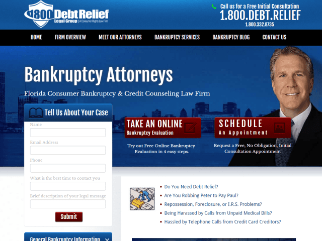 Writer for Bankruptcy Attorney in Florida