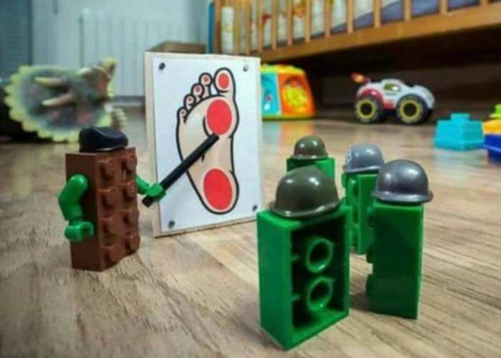 What LEGOs Do When You're Not Looking