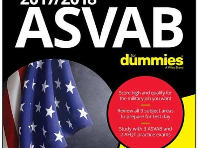 ASVAB For Dummies Cover - Angie Papple Johnston