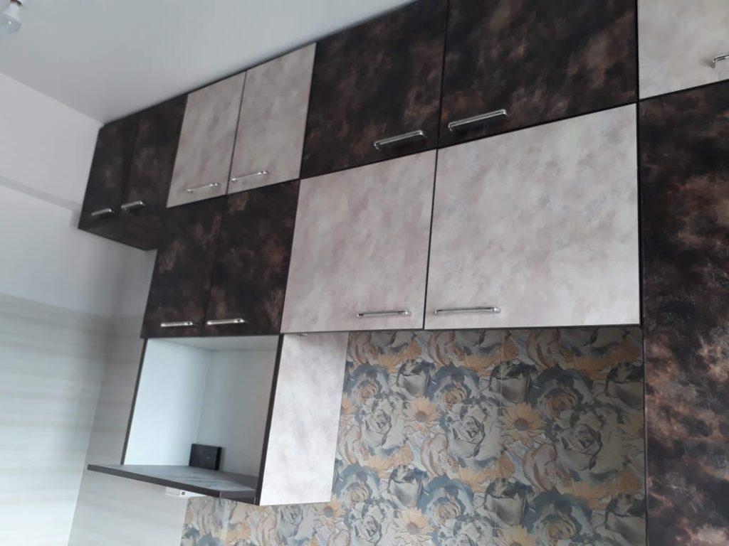 Dual Tone Modular Kitchen in New Town