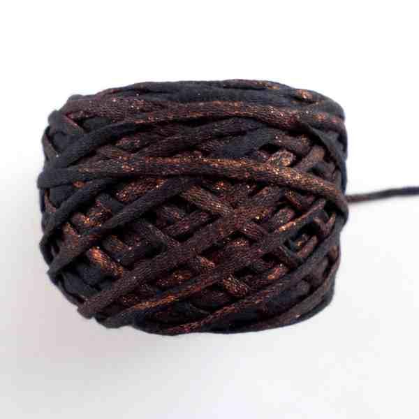 copper effect on yarn